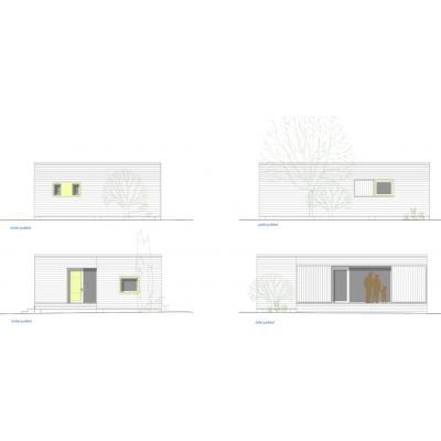 Modułowy dom 1-pokojowe