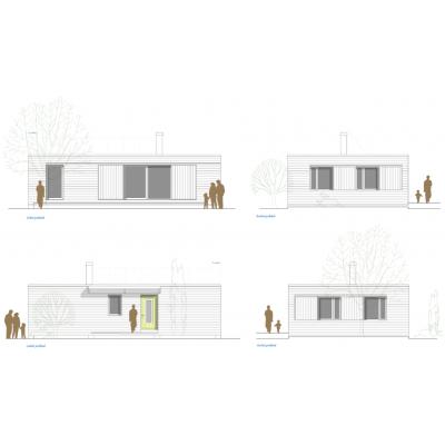 Dom modułowy 4-pokojowy