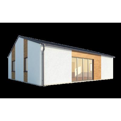 Modułowy dom 3-pokojowy