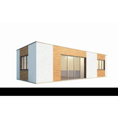 Modułowy dom 2-pokojowy