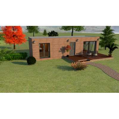 Dom modułowy 2-pokojowy